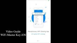 How to connect to WiFi (WiFi Master Key iOS Guide)