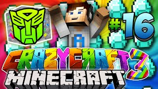 "Minecraft Crazy Craft 3.0 (Ep 16) - ""TRANSFORMIUM HUNT!"" w/ Ali-A"
