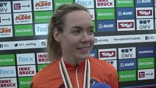 VM 2018: Anna van der Breggen om enkeltstarten