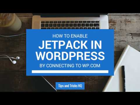 How to Enable JetPack in WordPress - Tips and Tricks HQ