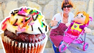 Видео для девочек: Маша Капуки Кануки и Элис готовят пирожное и сладости. Кондитерская