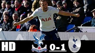 Crystal Palace Vs Tottenham ( 0-1 ) 25/02/2018