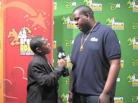 2012 Disney's Dreamers Academy - Interview with Singer Sean Kingston