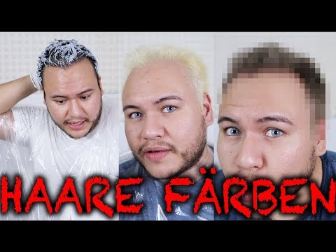 Haare Von Schwarz Auf Grau Färben Youtube