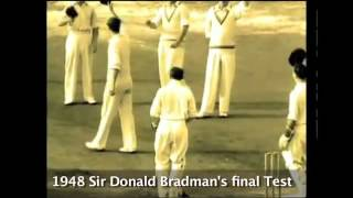 Don Bradman Last test match- duck