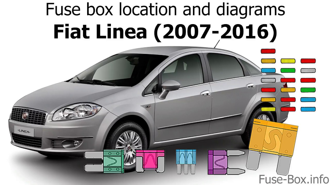 Fuse Box Location And Diagrams  Fiat Linea  2007