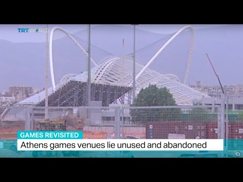 Games Revisited: Athens Games Venues Lie Unused And Abandoned, Samantha Johnson Reports