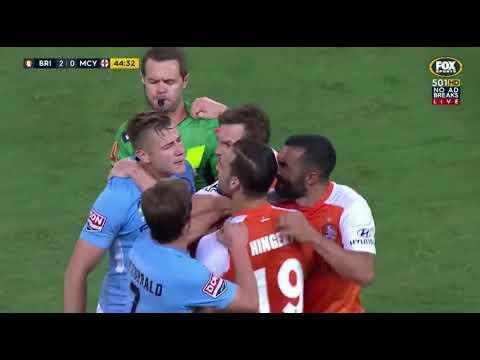 Brisbane Roar VS Melbourne City Round 7 2017/18 Highlights