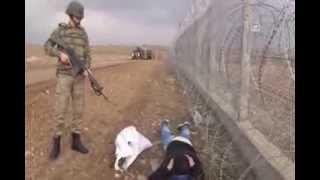 Suriye sınırı atmacalar