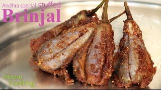Andhra Special Stuffed Brinjal | Ventuno Home Cooking