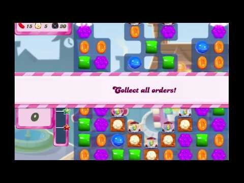 Candy Crush Saga Level 2725 NO BOOSTERS