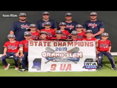 Tombigbee Tribe 9U baseball team wins state championship
