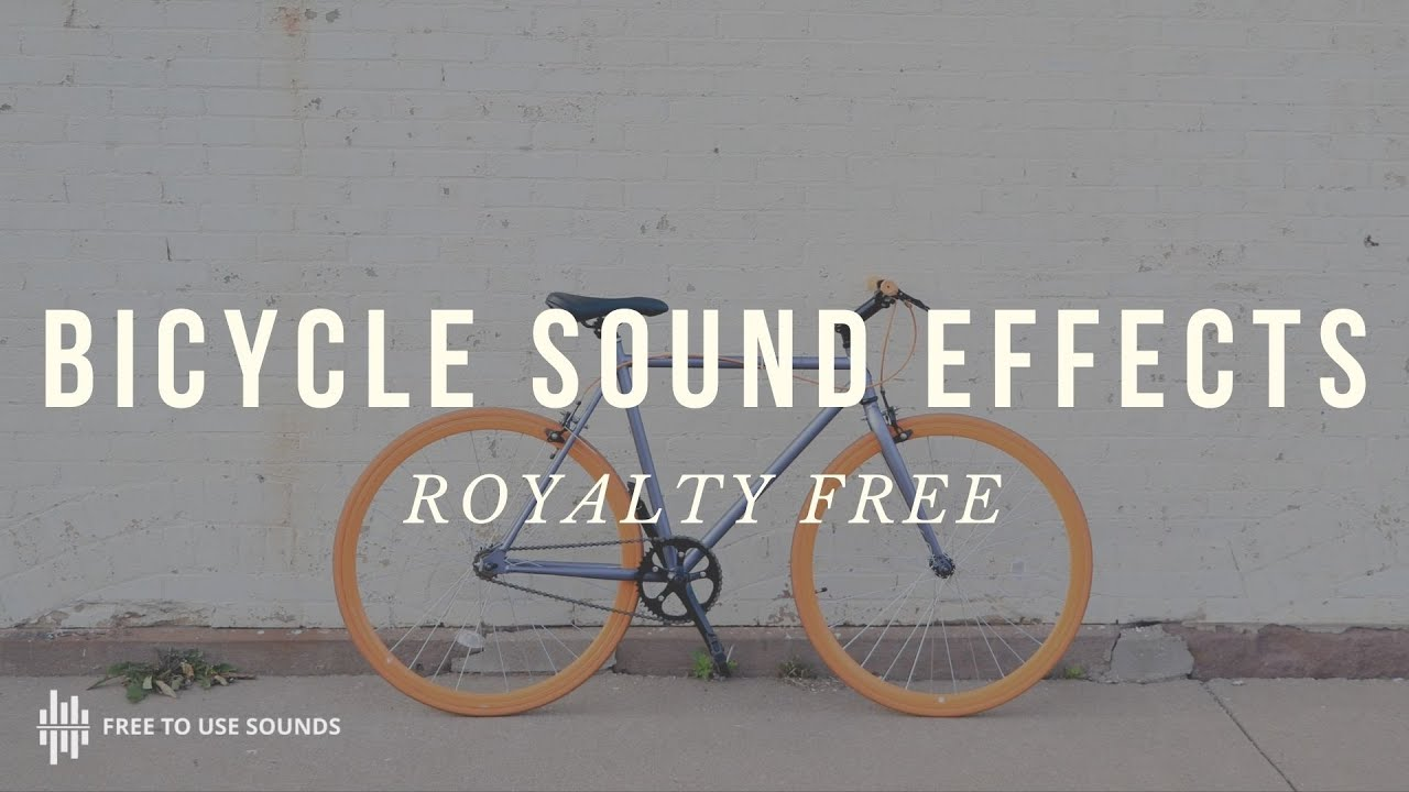 BEST FREE BICYCLE SOUND EFFECTS | GEAR SPINNING WHEEL CHAIN & SHIFTING  SOUND EFFECTS - ROAD BIKES