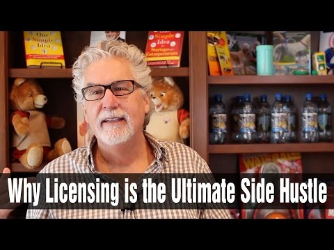 Why Licensing is the Ultimate Side Hustle