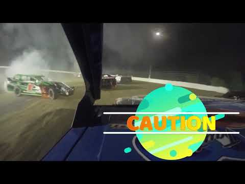 Grayson County Speedway dirt track in Bells, Texas, USA