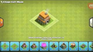 Clash Of Clans Town Hall 6 defense base