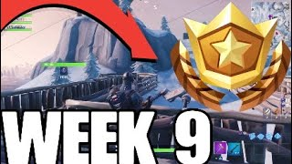 FORTNITE SECRET BATTLESTAR LOCATION WEEK 9 SEASON 7