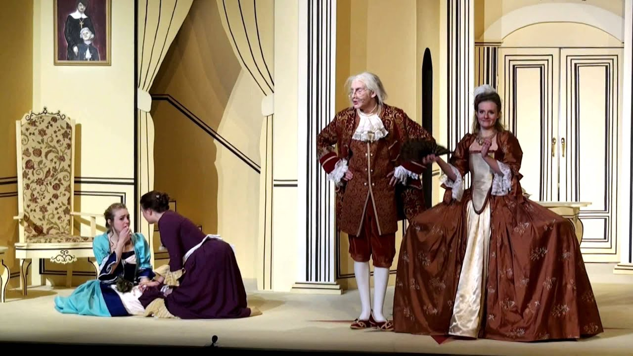 the manipulation of orgon in the play tartuffe by jean baptiste poquelin moliere Jean baptiste poquelin moliere wrote farces and comedies of manners moliere's play, tartuffe ridicules orgon's brother-in-law, confronts tartuffe.