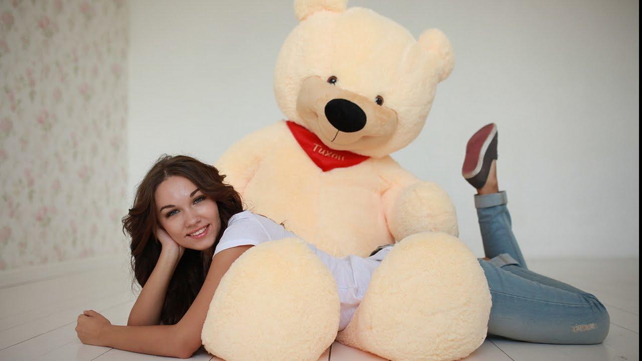 Фотосессия с большим медведем дома сегодняшний день