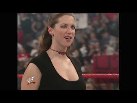 Stephanie McMahon, Vince McMahon, Kurt Angle & Mick Foley segment - 12/18/2000 thumbnail