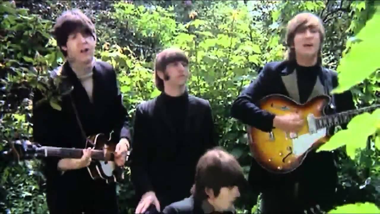 The Beatles Rain Music Video Youtube