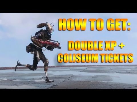 Earn 2XP, Coliseum Tickets, and Exclusive Camo, Nose Art & Execution | Titanfall 2