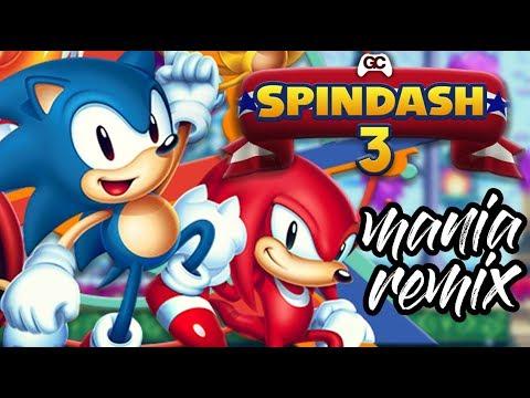Spindash 3 ~ Press Garden   Sonic Mania ~ Funk Fiction Future Funk Remix