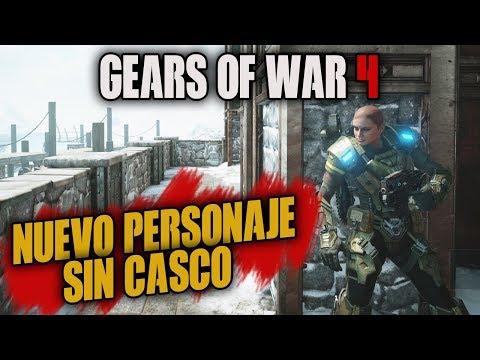 ARRASANDO CON EL NUEVO PERSONAJE!! URI MUJER SIN CASO | GEARS OF WAR 4