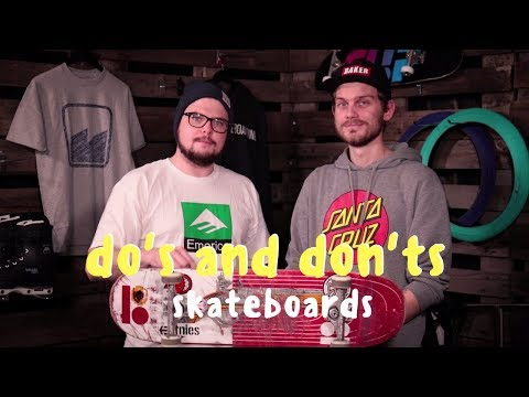 The do's and don'ts for custom builds | Skateboard | SkatePro.com