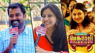 ഞാൻ ശരിക്കും കള്ളുകുടിക്കില്ലാട്ടോ - Reshma Rajan | Angamaly Diaries Team interview