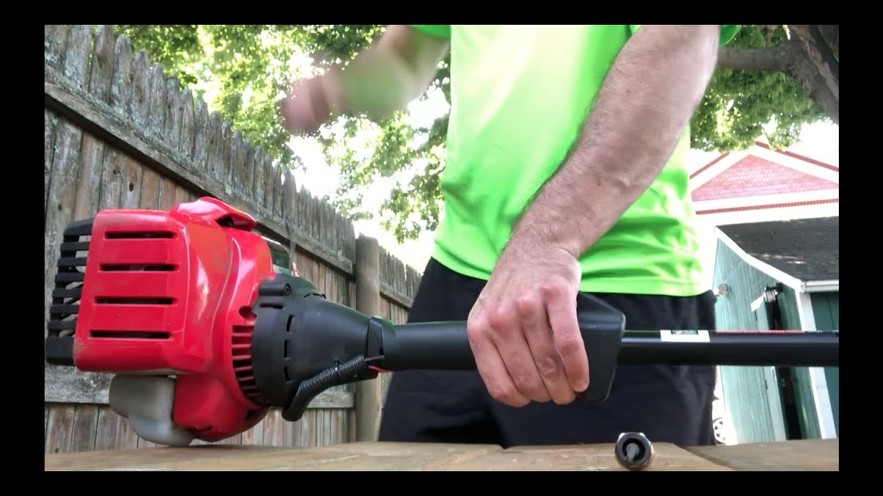 DIY: How to Change Troy-Bilt String Trimmer Spark Plug