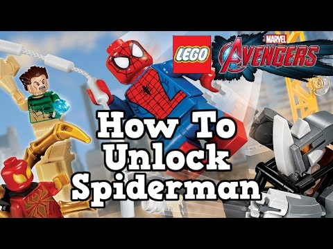 LEGO MARVEL Avengers How To Unlock Spiderman & Character Gameplay
