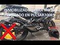 PULSAR 200RS (Inmobilizador para moto, instalado y funcionamiento) Alto al Moto Robo