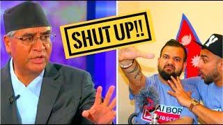 Sher Bahadur Deuba| - Sajha Sawal (COMEDY INTERVIEW)!! BHAI BORO