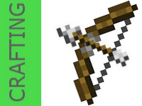how to craft bow amp arrow minecraft youtube