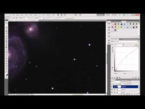 Astrophotography: Basic Processing in Photoshop. Part 5 - Curves