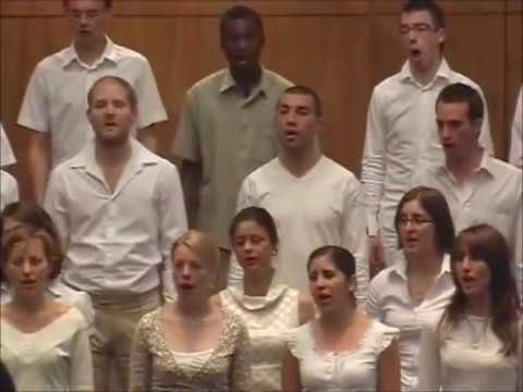 ''Thula Sizwe'' African prayer by World Youth Choir in South Africa 2007