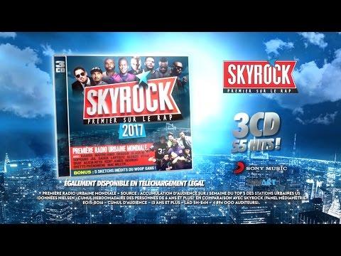 La compilation Skyrock 2017 dans les bacs !