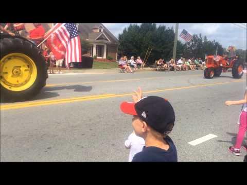 Dacula Memorial Day Parade Tractors2