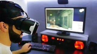 Мочись в КС в 3D | VR Очки Виртуальной Реальности BlitzWolf® BW-VR3