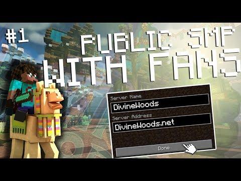 Trying The Best RPG Minecraft SMP? Boss Mobs, Jobs, Kingdoms   DivineWoods.net Avomance