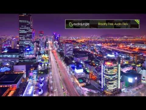 Asian City Night (watermarked royalty-free background music)