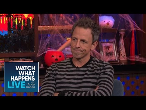 Which SNL Cast Member Does Seth Meyers Miss Most? | WWHL thumbnail