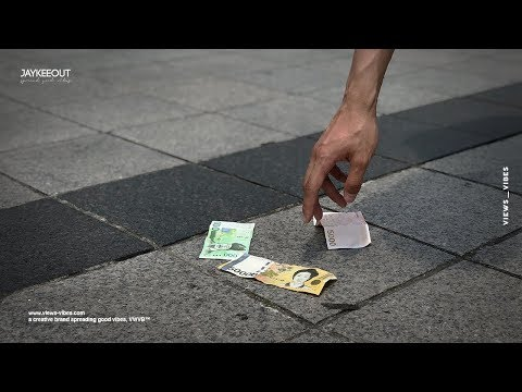 💸 would koreans take lost cash on the street | social experiment