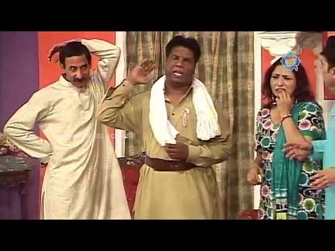 New Pakistani Stage Drama -Iftikhar Thakur, Amanat Chan And Abida Baig - Full Comedy Clip