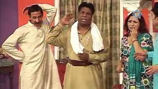 Iftikhar Thakur, Amanat Chan and Abida Baig New Pakistani Stage Drama Full Comedy Clip