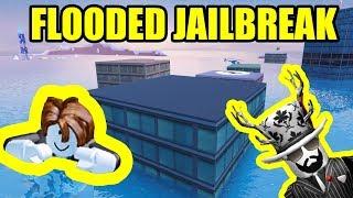 Spielen FLOODED JAILBREAK MAP! *NEU* Unterwasser-UPDATE   Roblox Jailbreak Neues Winter-Update