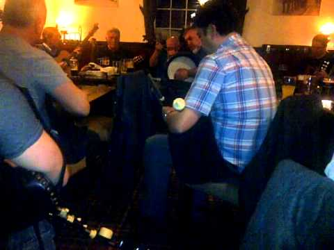 Irish Traditional Music Session with Uilleann Pipes