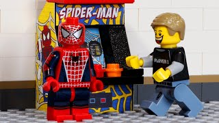 LEGO Arcade Game - Don't Mess With Spider-Man | Minifigure Studios