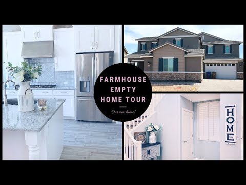 Empty Home Tour 2019 | Farmhouse 2-Story Home